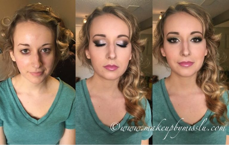 before and after hair and makeup makeover